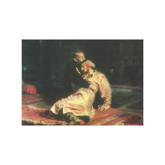 Ivan le terrible et son fils toiles