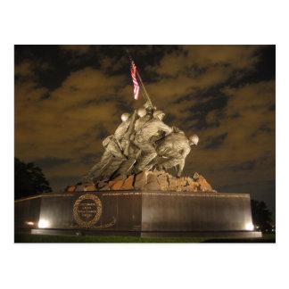 Iwo Jima à la carte postale de nuit