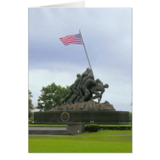 Iwo Jima, carte du jour de vétéran