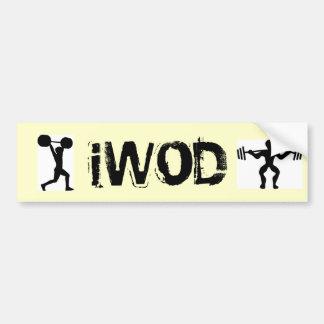 iWOD Autocollant Pour Voiture