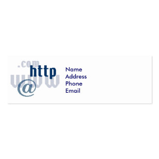 j0254444, NameAddressPhoneEmail Carte De Visite Petit Format