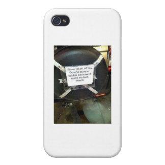 J ai enlevé mon adhésif pour pare-chocs de Barack Coques iPhone 4