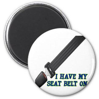 J ai ma ceinture de sécurité Dessus Aimants Pour Réfrigérateur
