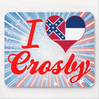 J aime Crosby Mississippi Tapis De Souris