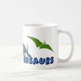 J aime des dinosaures tasse