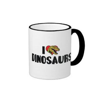 J aime des dinosaures tasses