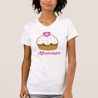 j aime des petits gâteaux de crâne t-shirt