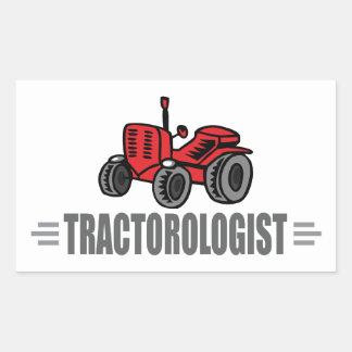 J aime des tracteurs sticker en rectangle