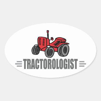 J aime des tracteurs autocollants