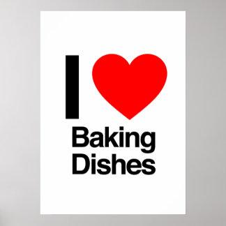 j aime faire des plats cuire au four