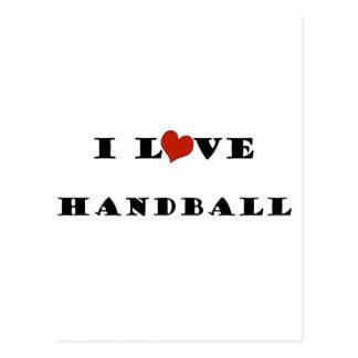 J aime Handball png Cartes Postales