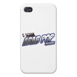 J aime l ARABE arabe POP de musique pop Étuis iPhone 4