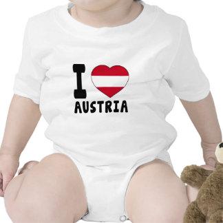 J aime l Autriche Bodies Pour Bébé