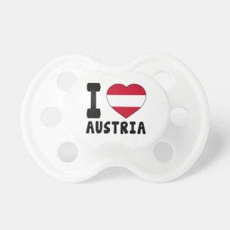 J aime l Autriche Tétine
