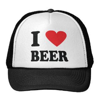 J aime l icône de bière casquette