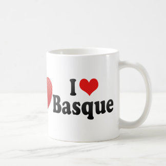 J aime le basque tasse à café