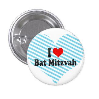 J aime le bat mitzvah pin's avec agrafe