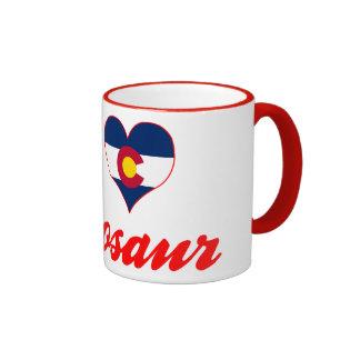 J aime le dinosaure le Colorado Mug À Café
