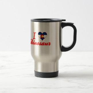 J aime le dinosaure le Colorado Mugs À Café