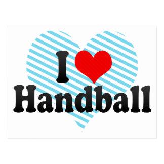 J aime le handball cartes postales