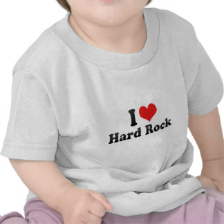 J aime le hard rock t-shirts