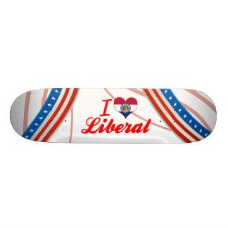 J aime le libéral Missouri Plateaux De Skate