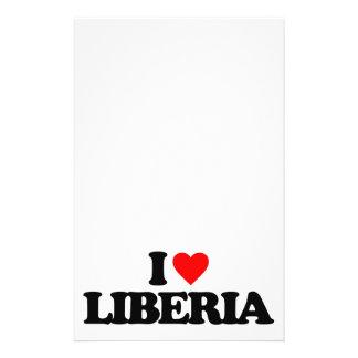 J AIME LE LIBÉRIA TRACT CUSTOMISÉ
