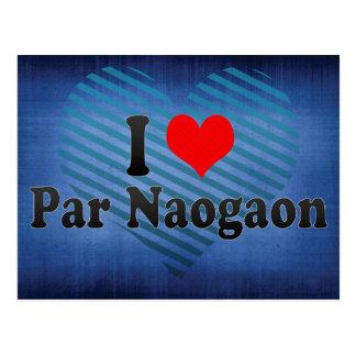 J aime le pair Naogaon Bangladesh Carte Postale