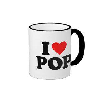 J AIME LE POP MUGS À CAFÉ