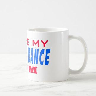 J aime ma maman de danse moderne tasse à café