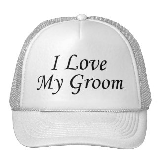 J aime mon marié la jeune mariée casquettes