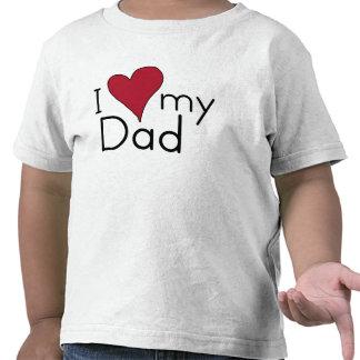 J aime mon papa t-shirts