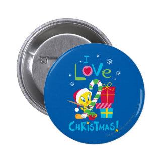 J aime Noël - Tweety Pin's Avec Agrafe