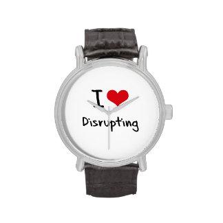 J aime perturber montres cadran