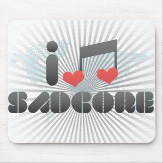 J aime Sadcore Tapis De Souris