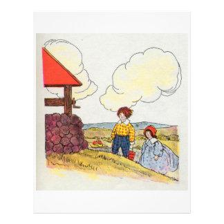Jack et Jill ont monté la colline Prospectus Personnalisés