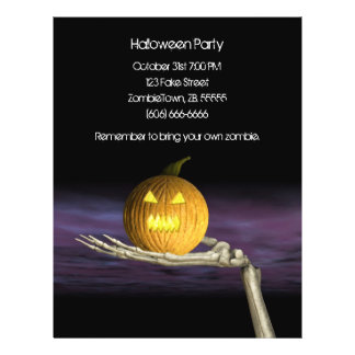Jack-o'-lantern - insecte de Halloween Prospectus 21,6 Cm X 24,94 Cm