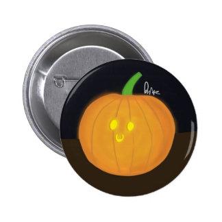 Jack-o'-lantern stupéfié badges