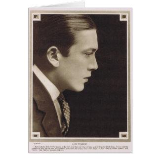 Jack Pickford 1918 Carte De Vœux