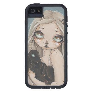 Jackalope avec le cas féerique de téléphone étuis iPhone 5