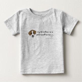 JackRussellTanBrother T-shirt Pour Bébé