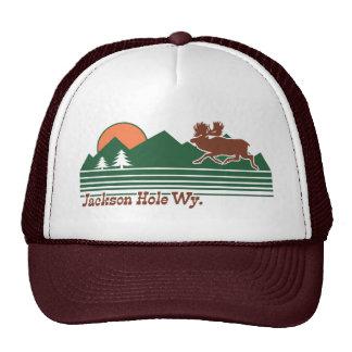 Jackson Hole Wyoming Casquette Trucker