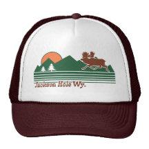 Jackson Hole Wyoming Casquettes De Camionneur