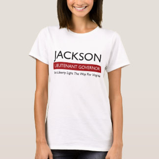 Jackson pour T des femmes du lt gouvernement T-shirt