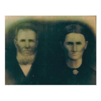 Jacob H.B. et Martha Jane (Russell) Miller Cartes Postales