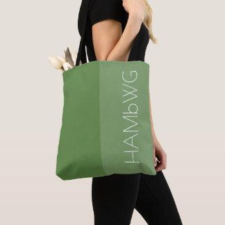 Jade de sac de HAMbWG - de fourre-tout/logo du