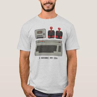 J'adore mon C64 ! commodore 64 du T-shirt 8bit