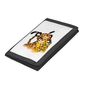 Jaguars mignons de bande dessinée dans le