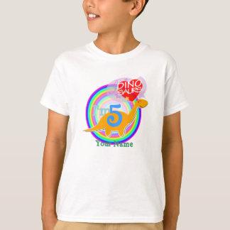 J'ai 5 ans - le 5ème T-shirt de Dino de