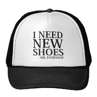J'ai besoin de nouvelles chaussures casquette de camionneur
